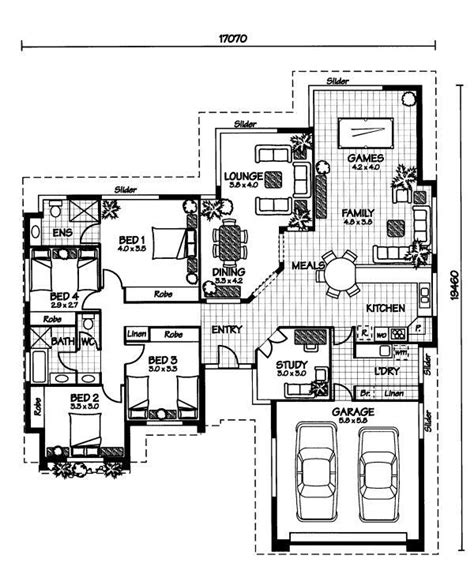 australian home designs floor plans 25 best ideas about australian house plans on pinterest