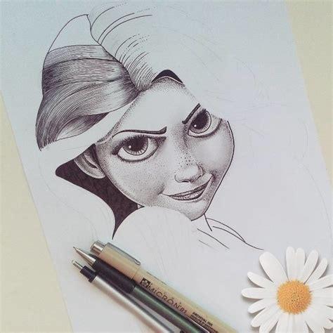 Character Pencil 15 beautiful disney color pencil drawings by teresa