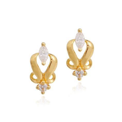 the gallery for gt indian gold earrings for
