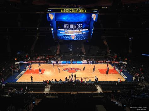 section 224 madison square garden madison square garden section 224 new york knicks