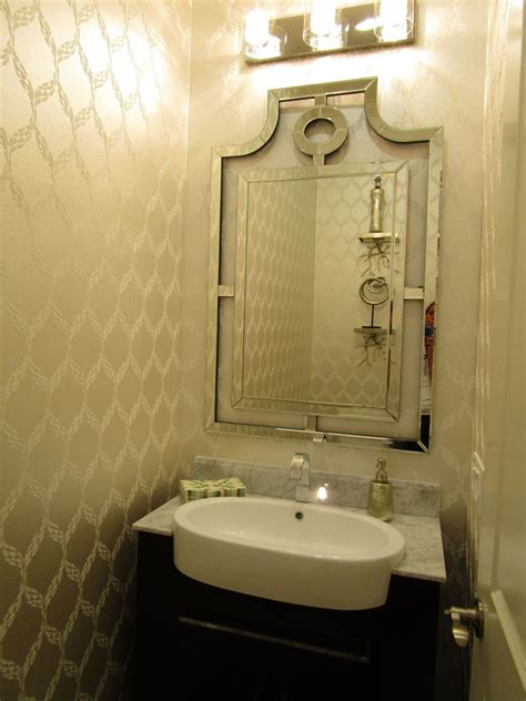 beautiful powder rooms hometalk before after builder basic powder room to