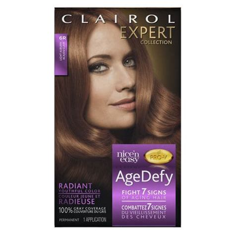 what hair colour age 61 clairol age defy expert collection hair colour walmart ca