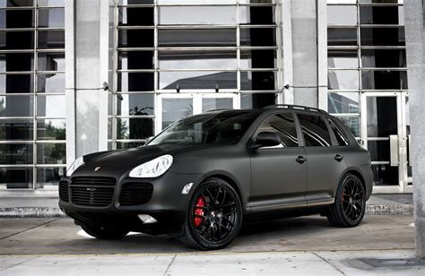 porsche cayenne matte black customized porsche cayenne turbo s with matte black
