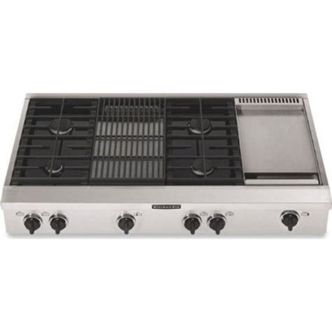 simmer plate for gas cooktop kitchenaid kgcp484kss 48 quot sealed burner commercial style