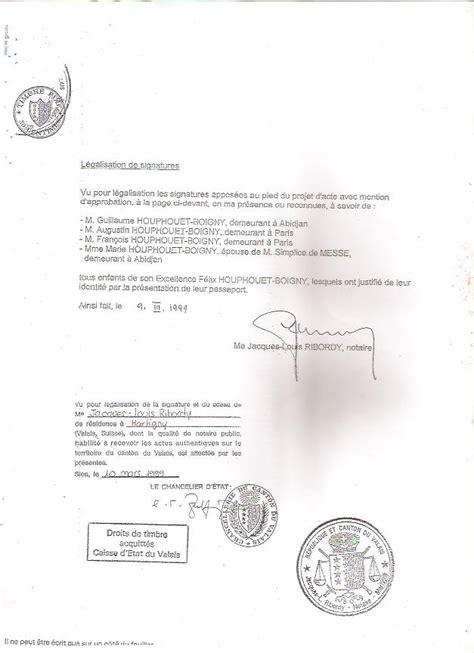 Exemple Lettre Procuration Succession exemple de lettre de procuration pour heritage