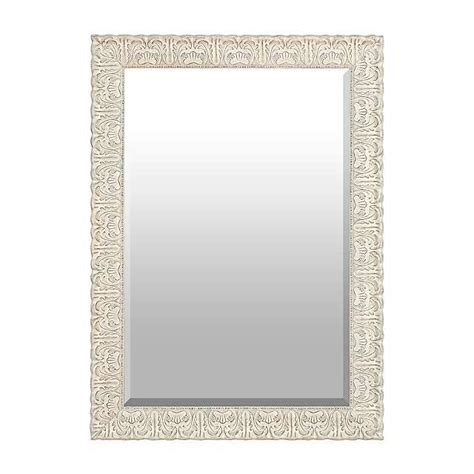kirklands bathroom mirrors ornate ivory framed mirror 30 5x42 5 from kirklands com