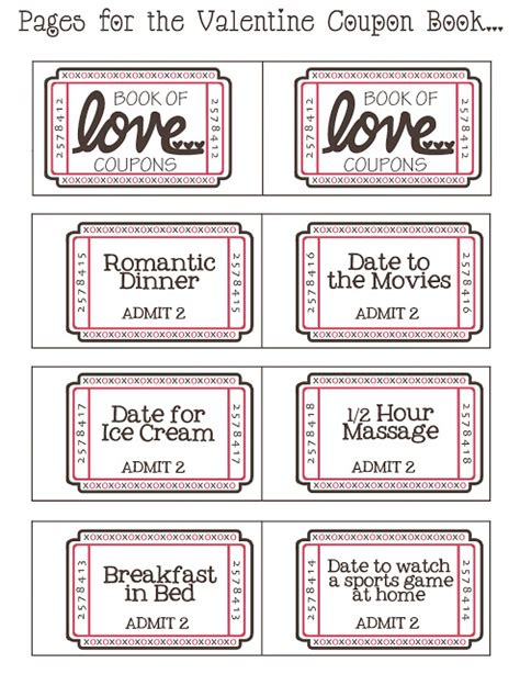printable love coupons for christmas mommy by day crafter by night free printable valentine