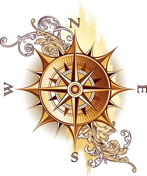 vintage compass rose tattoo the gallery for gt compass png