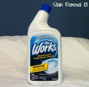 works bathroom cleaner the works toilet bowl cleaner reviews