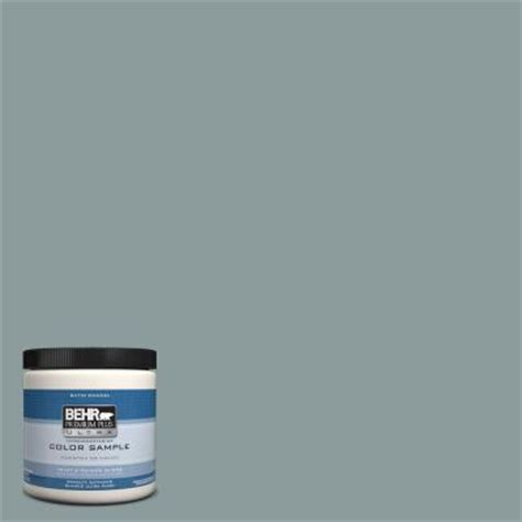 behr premium plus ultra 8 oz hdc ac 23 provence blue interior exterior satin enamel paint