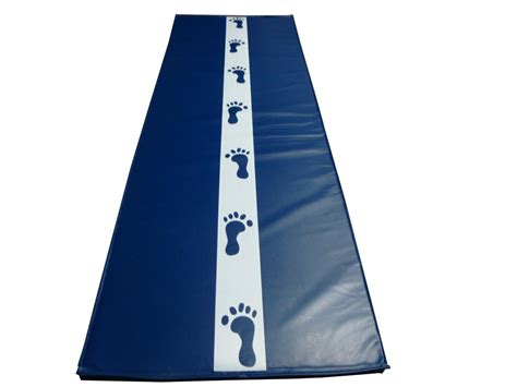 Cartwheel Mats by 6 X2 New Blue Cartwheel Mat