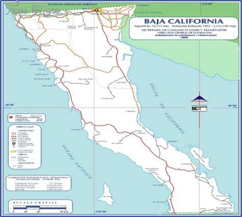 map california mexico maps of baja california mexico toursmaps
