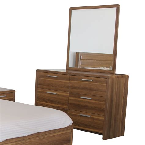 New Drawer New La 6 Drawer Dressing Table Set