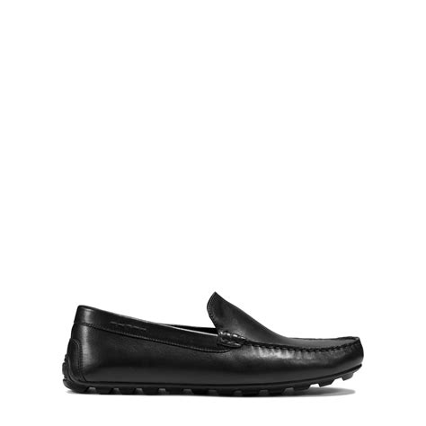 michael kors black loafers michael kors william leather loafer in black for lyst