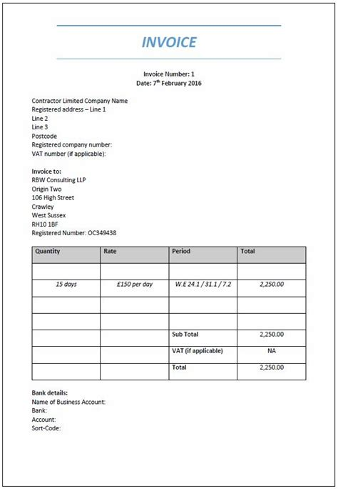 exle of an invoice template exle of invoices privatesoftware info