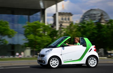 C453 Green smart fortwo ed electric vehicle third generation photo