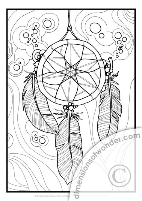 designs of native colouring pages