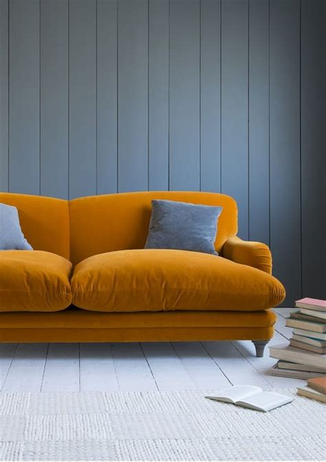 25 best ideas about orange sofa on orange