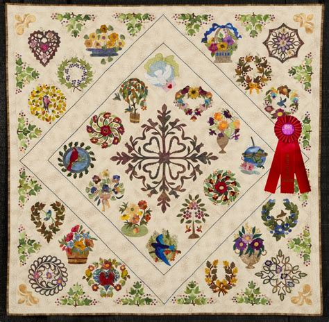 Brown Bird Quilt by 2011 Quilt Expo Quilt Contest 2nd Place Category 8 Wall