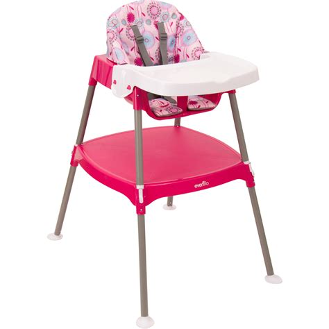 Evenflo Portable High Chair by Evenflo Convertible High Chair Dottie Lime Walmart