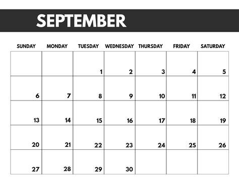 monthly calendar template paper trail design
