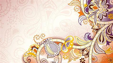 wallpaper abstrak bunga baroque abstrak hd wallpaper desktop layar lebar