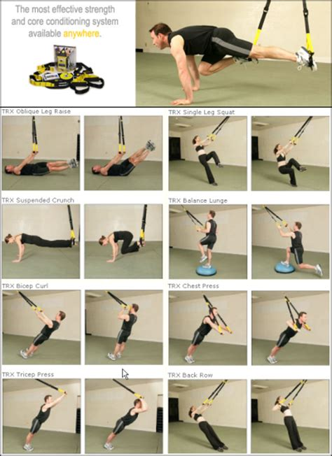 trx strength 12 week program log book