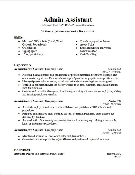 Professional Summary For Resume For Assistant by Administrative Assistant Summary For Resume Sanitizeuv
