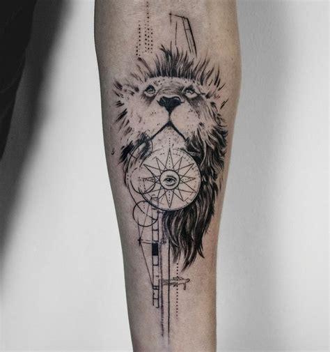 imagenes de leones tatuados tatuajes de leones en el antebrazo
