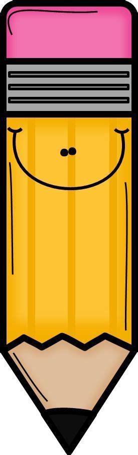 clipart school orange pencil clip etiquetas y dibujitos