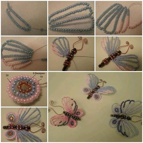 beaded butterfly craft diy beautiful beaded butterflies
