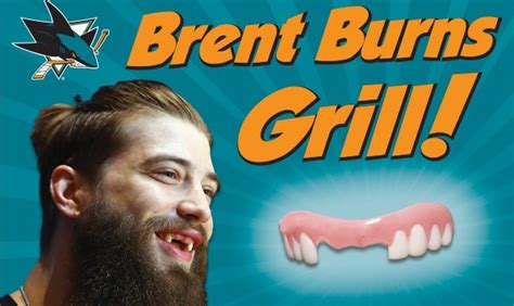 San Jose Sharks Giveaways - san jose sharks will give away grills so you can look like brent burns puck drunk love
