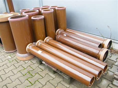 vitrified clay pipe