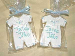 Boys Favors by Cookie Dreams Cookie Co Boy Christening Cookie Favors