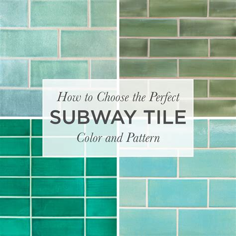 Subway Tile Bathroom Colors by How To Choose The Subway Tile Color Pattern