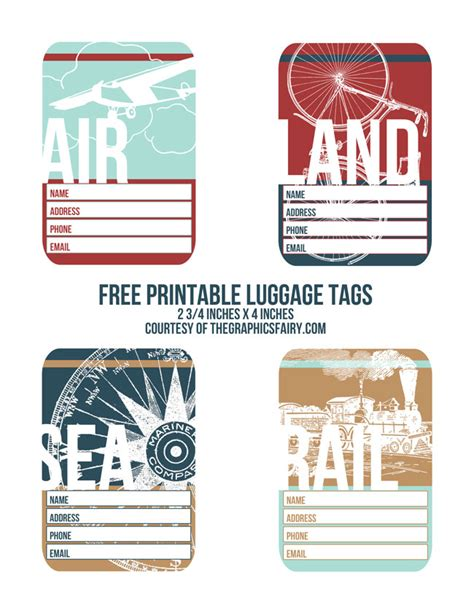 printable luggage tags pdf cutest printable luggage tags the graphics fairy