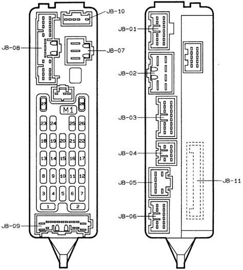 mazda protege fuse box diagram 28 images 1990 mazda
