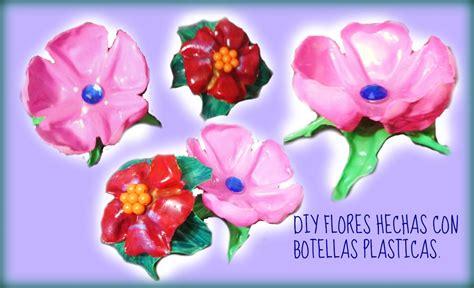 como hacer flores de botellas de plastico paso a paso como hacer flores con botellas de plastico reciclado