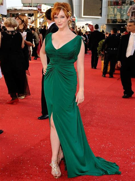 reviews on weaveologist fashion hendricks christina hendricks green gown highlander
