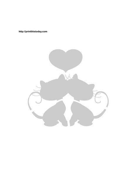 Printable Valentine Stencils | printable valentine stencils