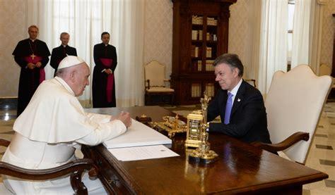 confirman visita papa francisco a colombia en 2017 el heraldo papa francisco en colombia 2017 el vaticano notifica a santos oficialmente la visita papa