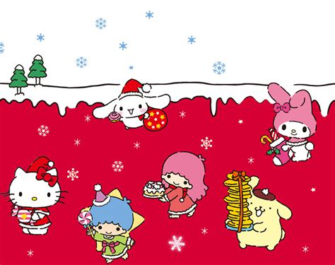 pretty droid themes kitty christmas wallies