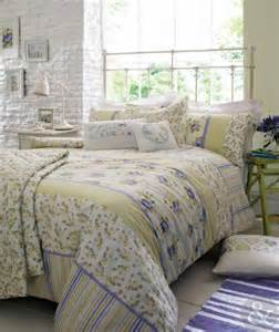 kirstie allsopp shabby chic duvet cover vintage yellow purple cotton bedding king size quilt