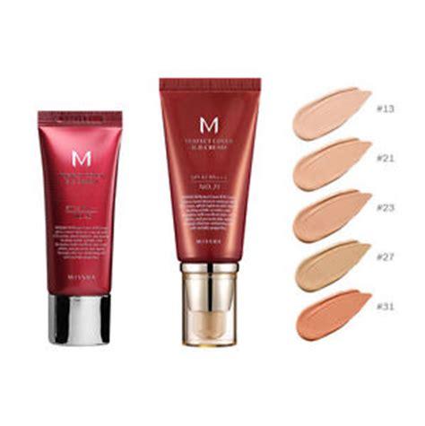 missha m perfect cover bb cream 20ml or 50ml spf42 #13