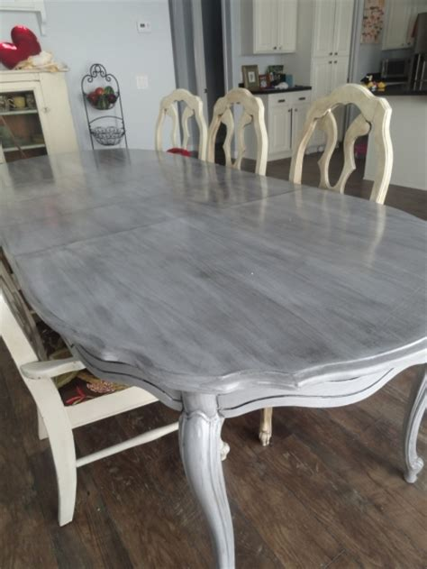 hometalk how to refinish a kitchen table re do