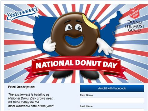 Sweepstakes Canada 2014 - 2014 entenmann s national donut day sweepstakes sweepstakes fanatics