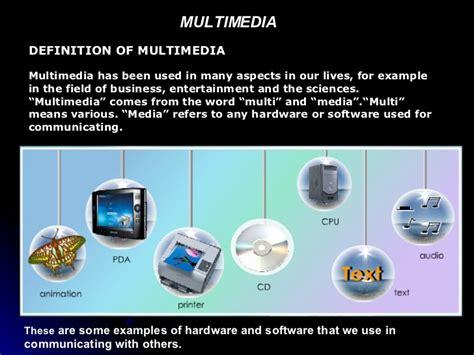 design elements of text media multimedia element