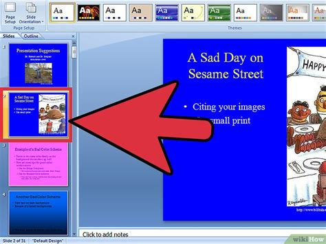 powerpoint layout größe ändern den hintergrund von powerpoint slides 228 ndern wikihow