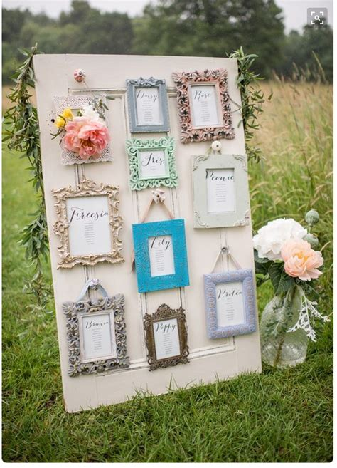 creative wedding table plan ideas  pinterest