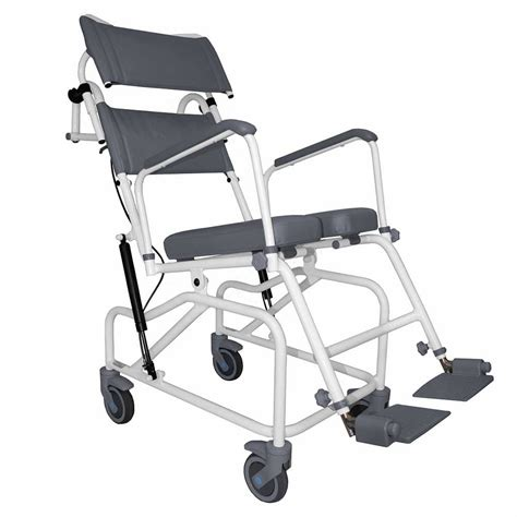 How To Use A Commode Chair by Aquamaster Tilt In Space Shower Commode Chair Nrs Healthcare